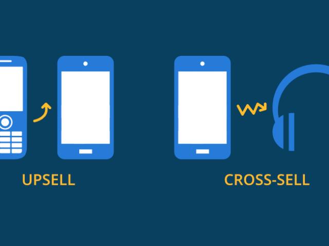 cross-sell upsell